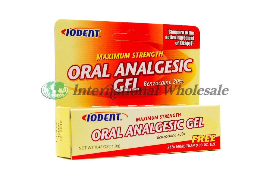 Oral Analgesic Gel 29