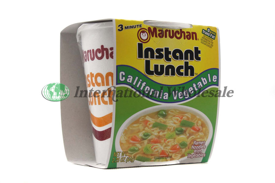 Maruchan Cup Soup California Vegetable 12 2 5 Oz Wholesale