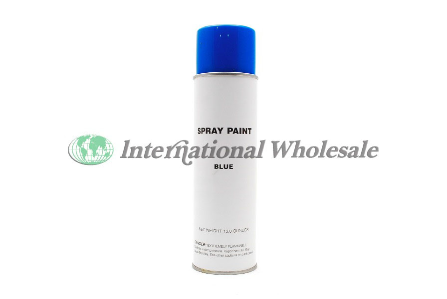 Spray paint blue color 12 13 oz wholesale wholesale for Decor international wholesale