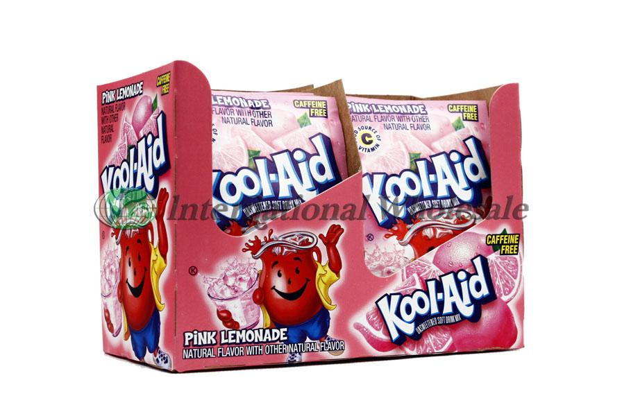 Kool Aid 2qrt Pink Lemonade 4 48ct Wholesale Wholesale