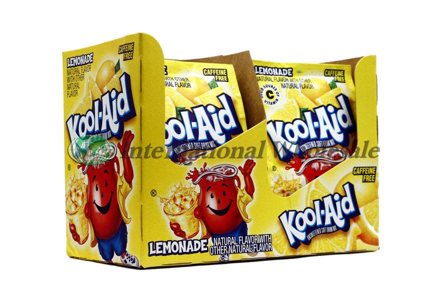 Kool Aid 2qrt Lemonade 4 48ct Wholesale Wholesale Dollar