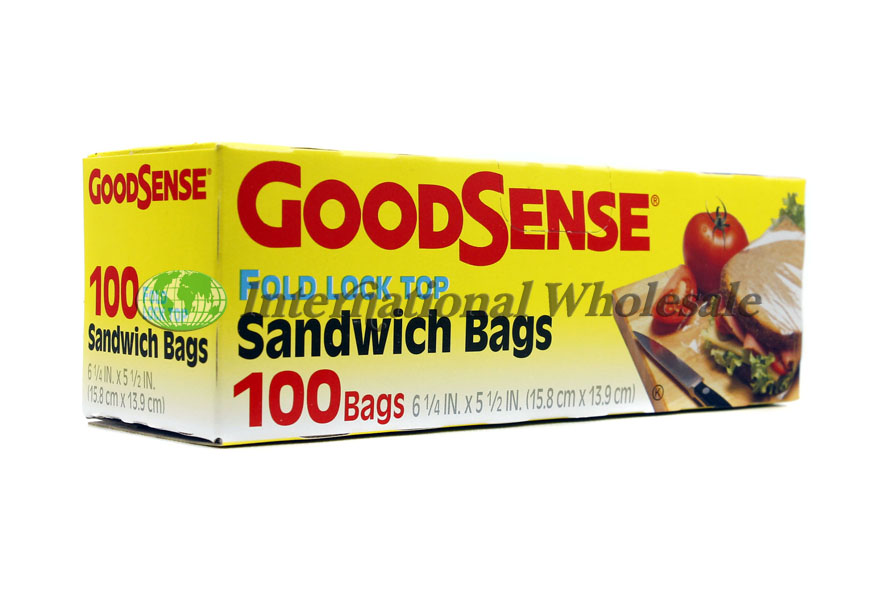 Good Sense Sandwich Bags 24ct 100pk Wholesale Wholesale