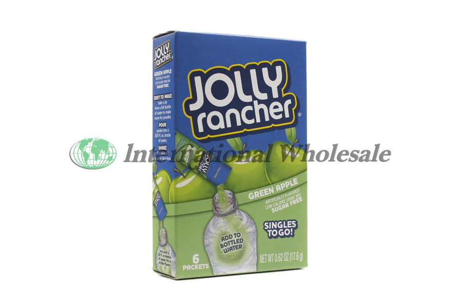 Jolly Rancher Singles To Go Green Apple 12 6 Pk At