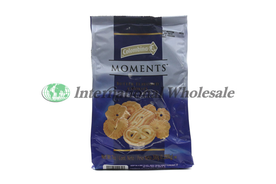 Colombina Moments Butter Cookies 12 7 Oz At Wholesale