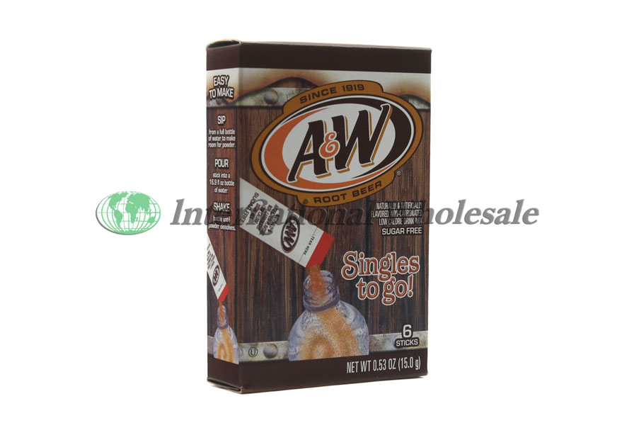 A Amp W Root Beer Singles To Go 12 6 Pk Wholesale Wholesale