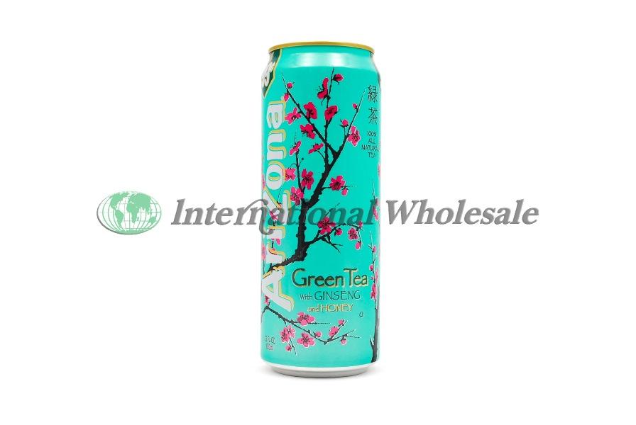 Wholesale Arizona Iced Tea Green Tea W Ginseng 24ct 23 Oz