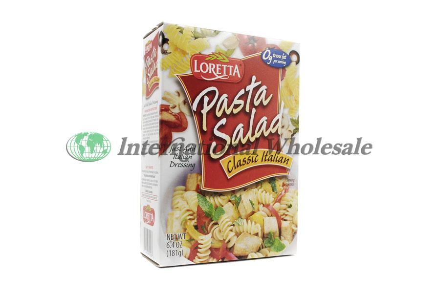 Wholesale Loretta Pasta Salad Italian 12 6 4z Suppliers