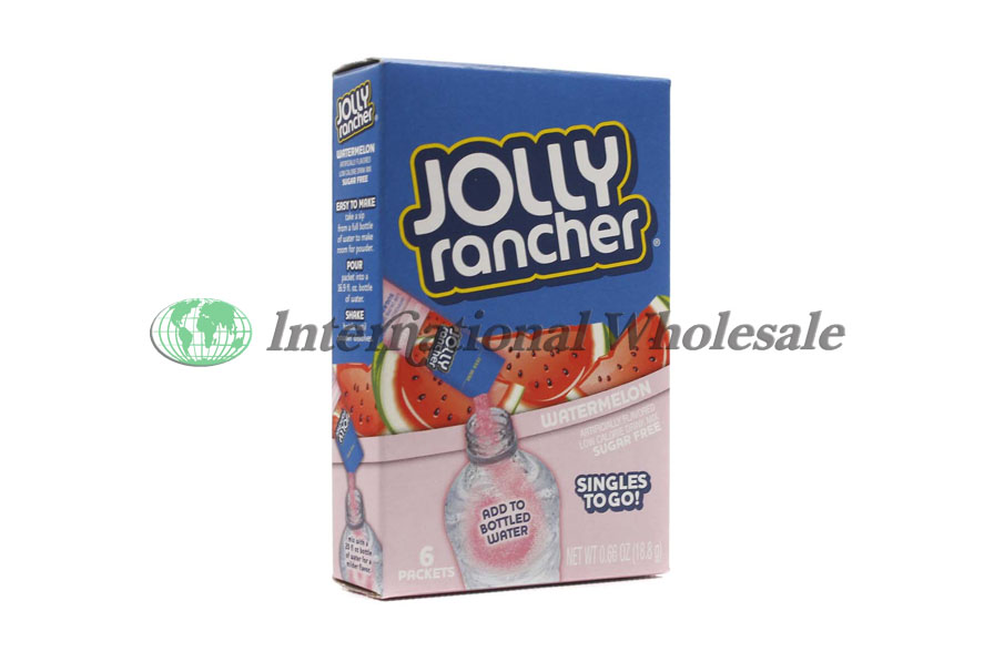 Jolly Rancher Singles To Go Watermelon 12 6 Pk Wholesale