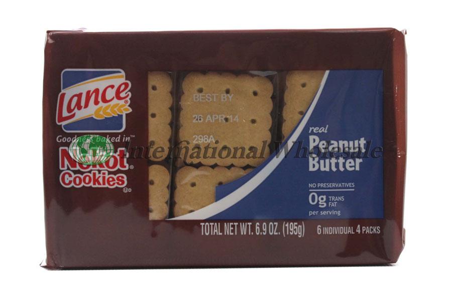 Wholesale Lance Cookies Nekot Peanut Butter 12 6pk 7 Oz