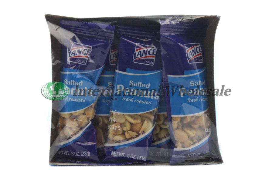 Wholesale Lance Peanuts Salted 12 5pk 3oz Suppliers