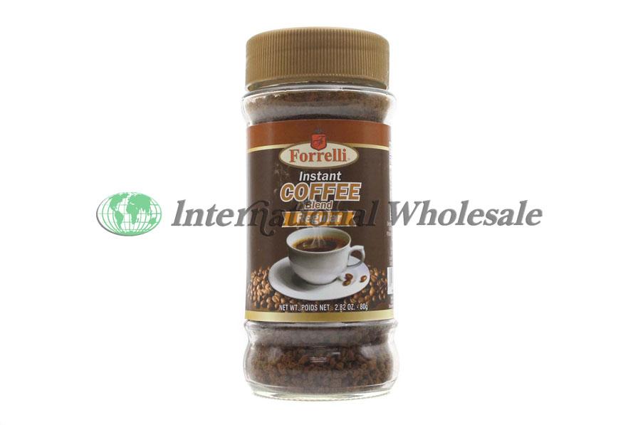 Wholesale Forrelli Instant Coffee Reg 24 2 82 Oz Suppliers