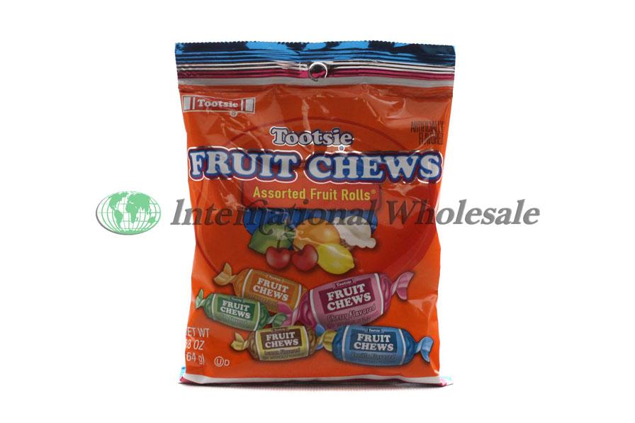 Wholesale Tootsie Roll Peg Bag Fruit Chews 12 5 8 Oz
