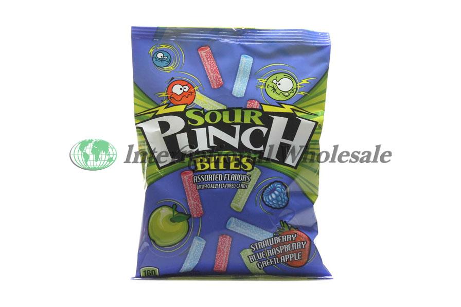Wholesale Sour Punch Peg Bites Assorted Flavors 12 4 Oz