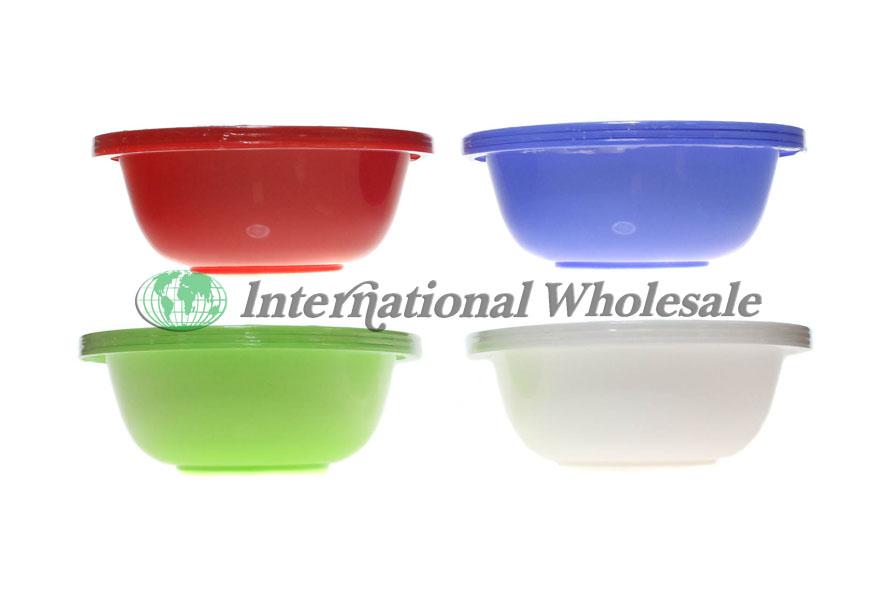 Wholesale Plastic Cereal Bowl 3pcs Asst 24ct Suppliers